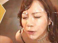 Asian, Bukkake, Facial, Gangbang, Hardcore