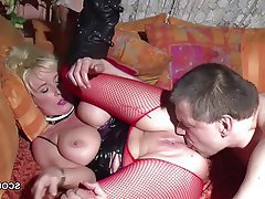 Big Boobs, Blonde, German, MILF, Old and Young