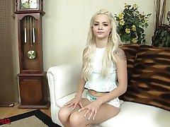 Blonde, Handjob, POV, Teen