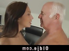 Brunette, Cunnilingus, Old and Young, Teen