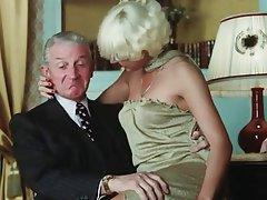 Blonde, Blowjob, Facial, Old and Young, Vintage