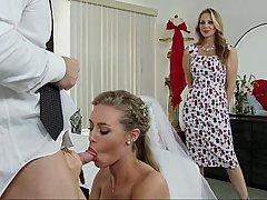 Wedding, Wedding, Threesome, Threesome, Pornstar