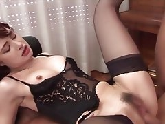 Brunette, Group Sex, MILF, Old and Young
