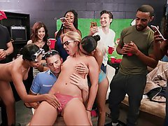College, Party, Orgy, College