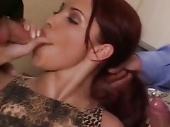 Anal, Blowjob, Double Penetration, Old and Young, Threesome