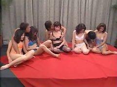 Asian, Blowjob, Facial, Group Sex, Hardcore
