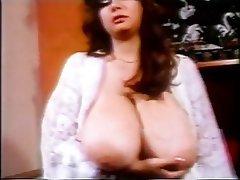Babe, Big Boobs, Brunette, Masturbation, Vintage