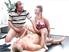 Hardcore, Old and Young, Threesome