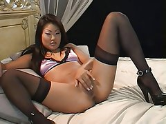 Masturbation, POV, Softcore, Stockings