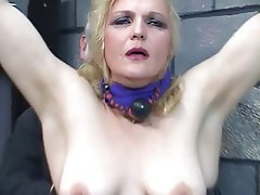 BDSM, Blonde, Latex, Pantyhose, Mature