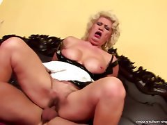 Hairy, Granny, Mature, Creampie, Old and Young