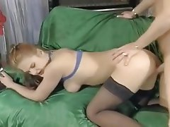 Big Boobs, French, Old and Young, Redhead